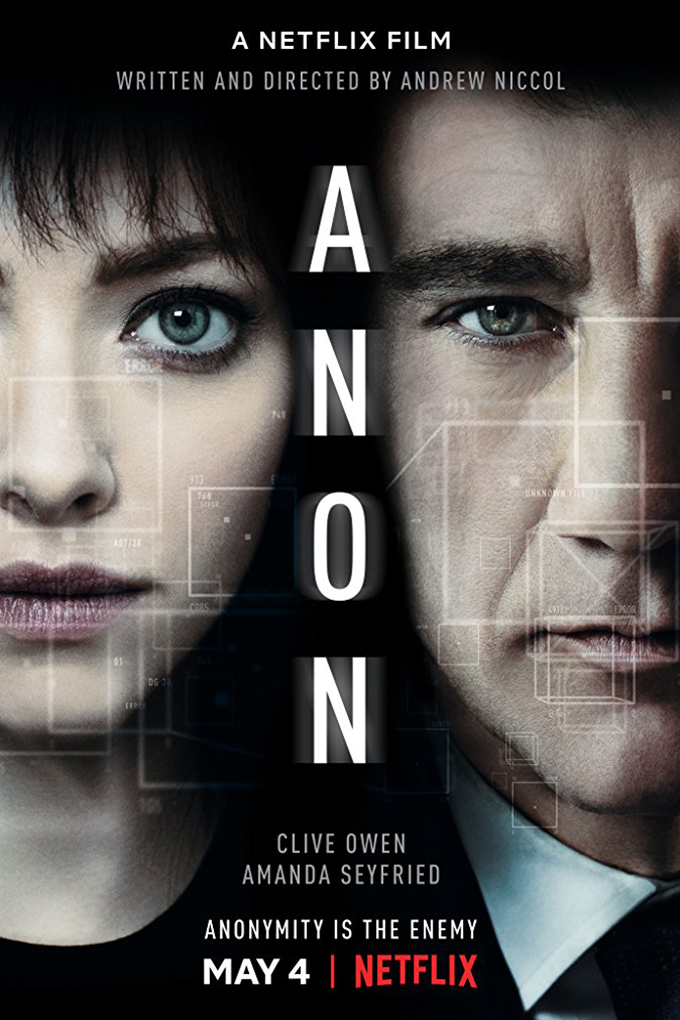Anon [2018 Germany Movie] English, Crime, Mystery, Sci Fi