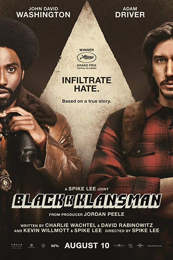 BlacKkKlansman [2018 USA Movie] Comedy, Biography, True Story