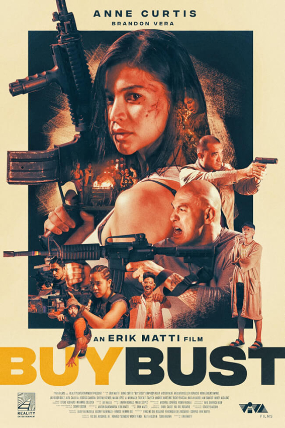 Buybust [2018 Philippines Movie] Action