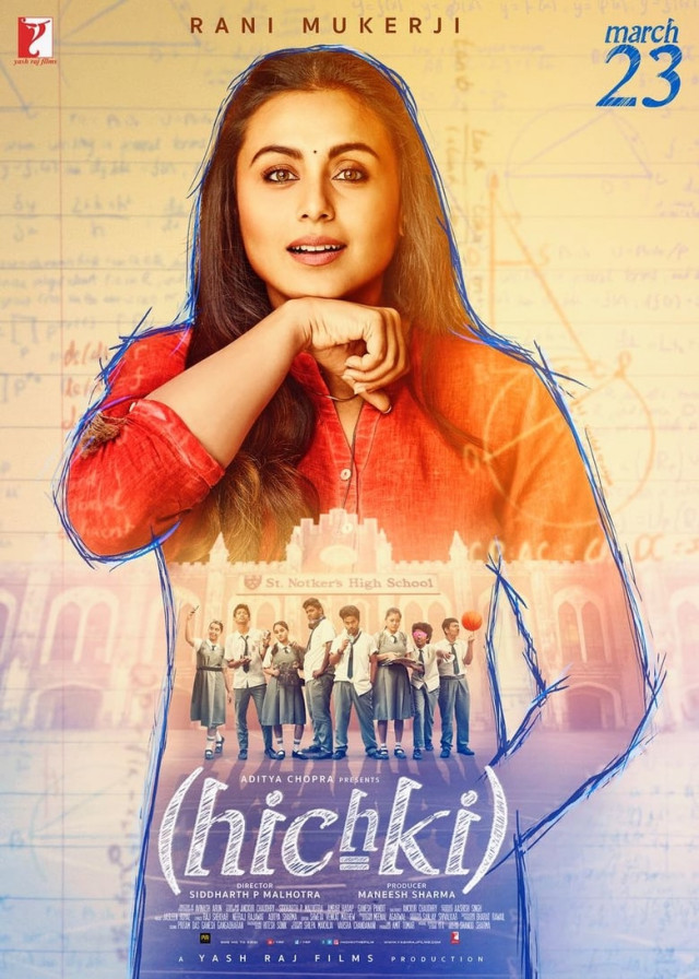 Hichki [2018 India Movie] aka. Hiccup. Hindi, Comedy