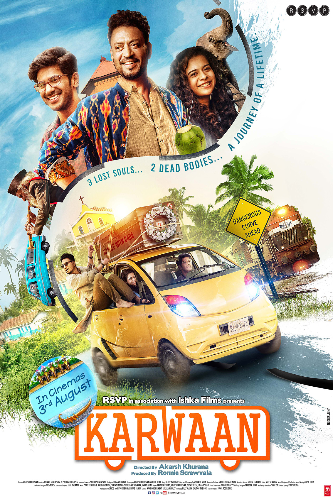 Karwaan [2018 India Movie] Hindi, Comedy, Drama