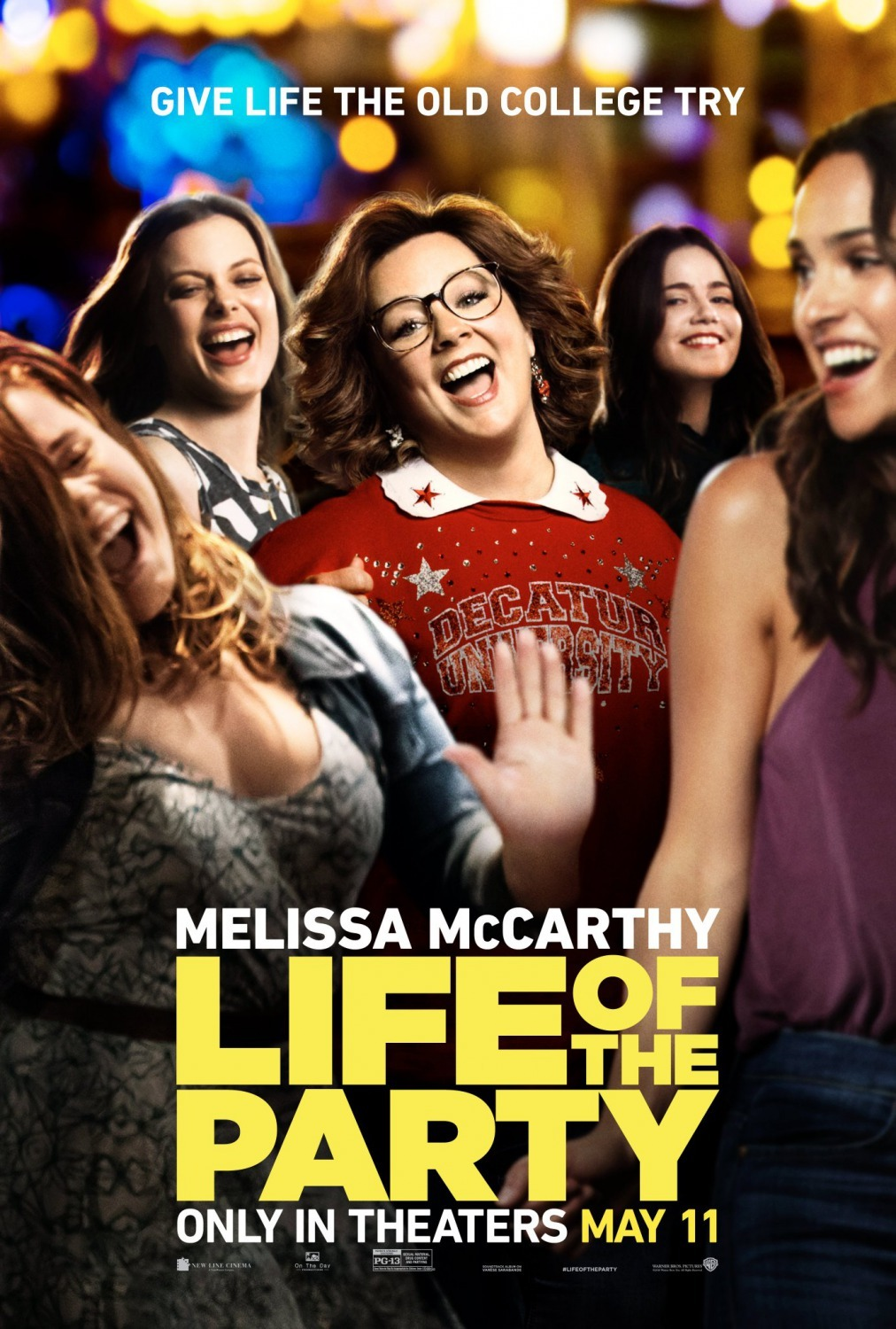 Life Of The Party [2018 USA Movie] Comedy