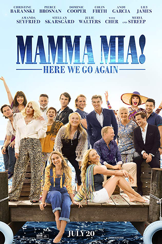 Mamma Mia! Here We Go Again [2018 USA, UK Movie] Musical, Drama