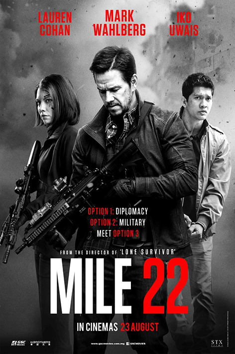 Mile 22 [2018 USA Movie] Action, Crime