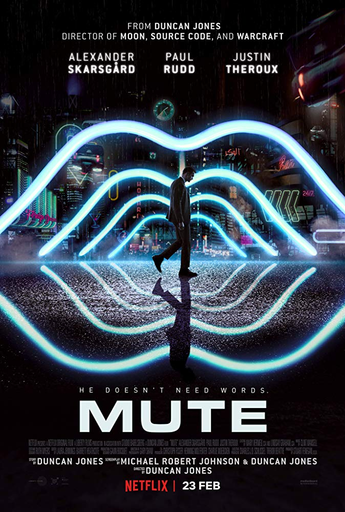 Mute [2018 UK, Germany Movie] Mystery, Sci Fi, Thriller