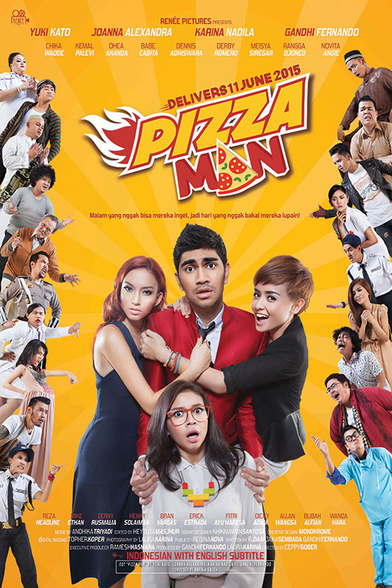 Pizza Man [2015 Indonesia Movie] Drama, Comedy