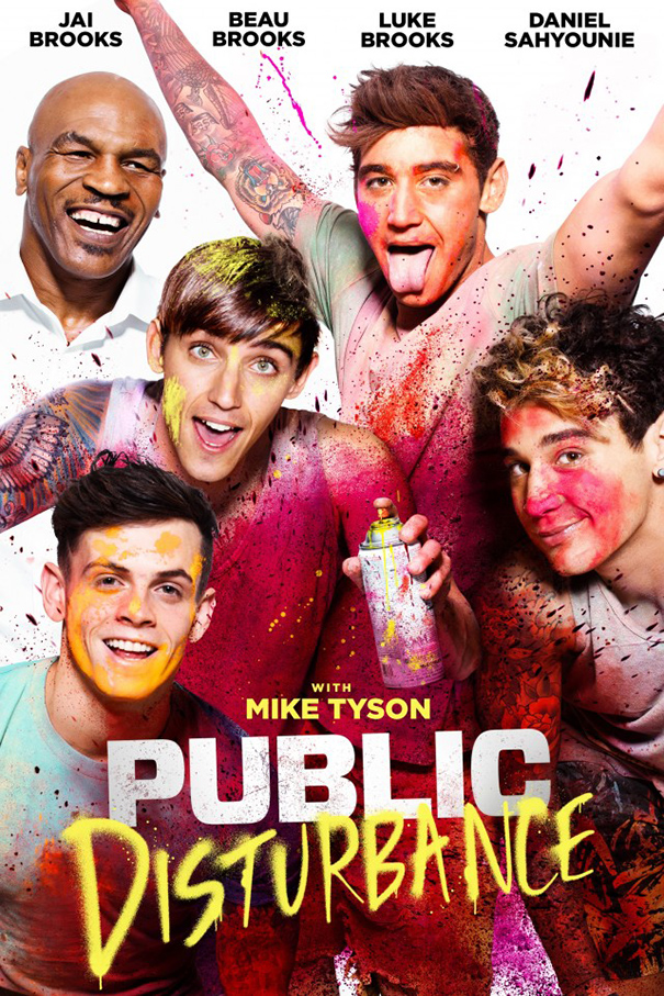 Public Disturbance [2018 USA Movie] Comedy