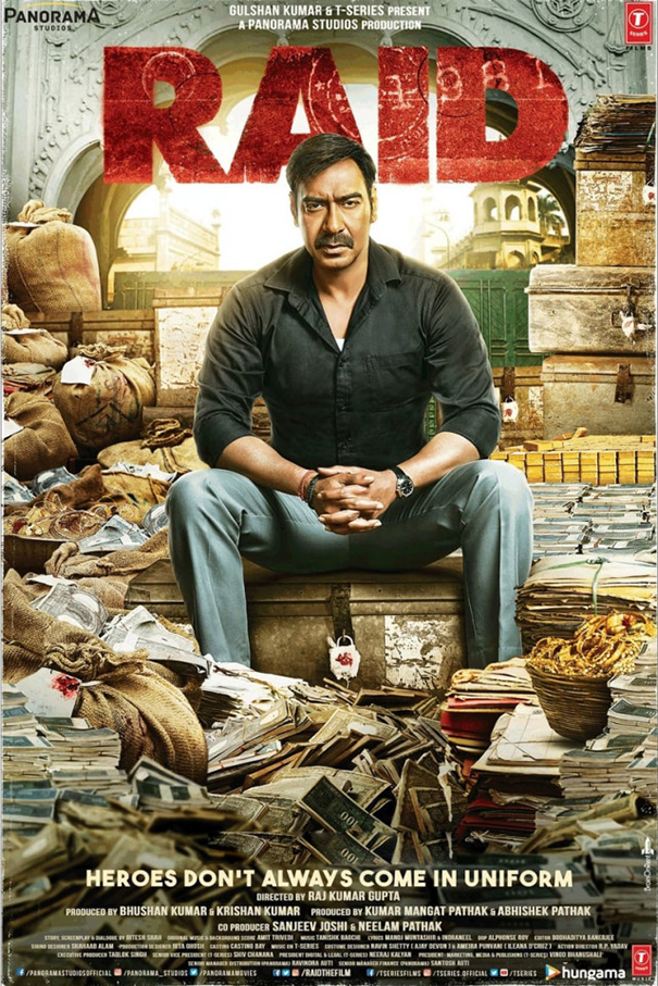 Raid [2018 India Movie] Hindi, Action, Thriller