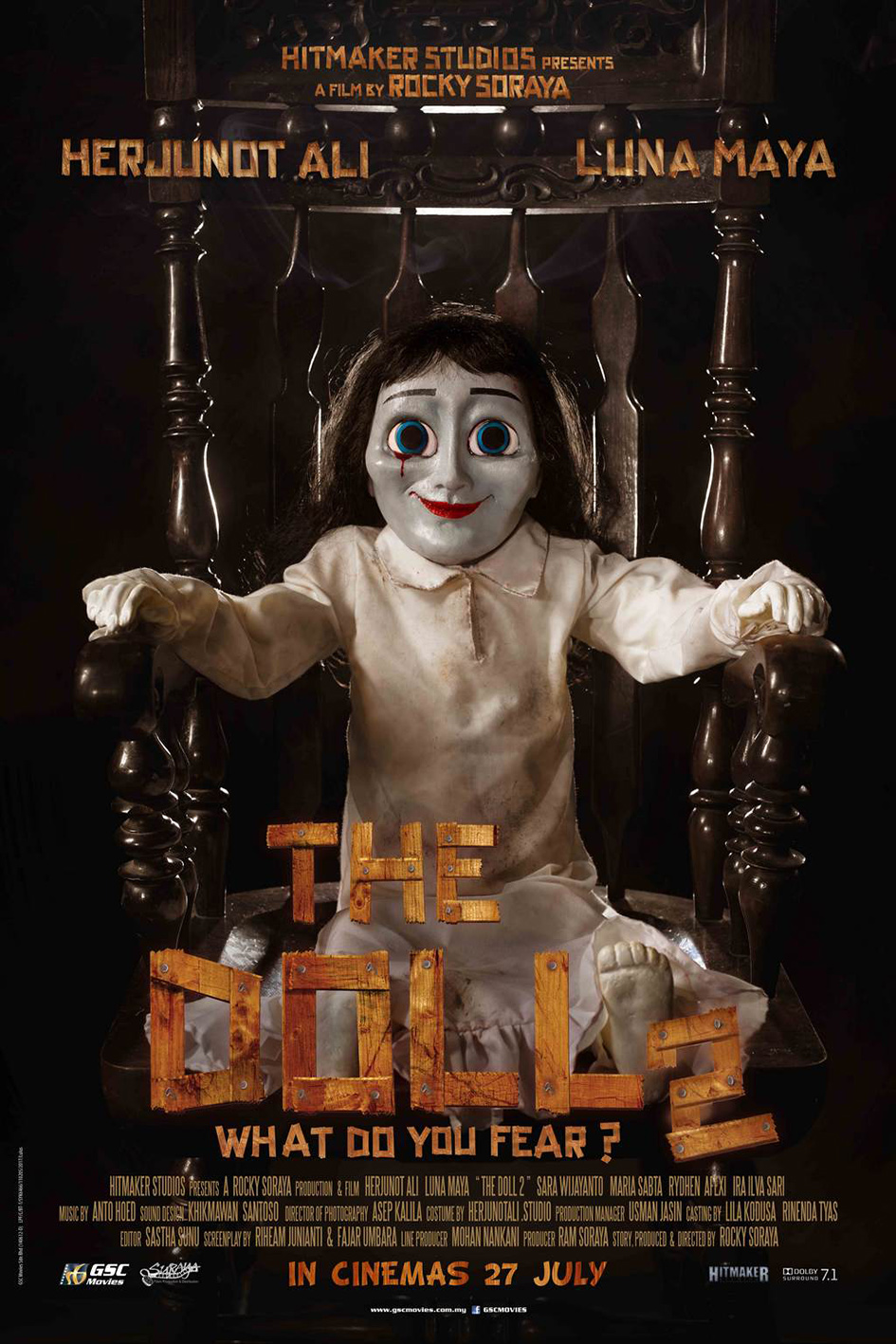 The Doll 2 [2017 Indonesia Movie] Horror