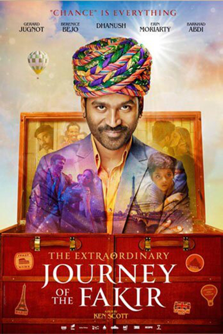 The Extraordinary Journey of the Fakir [2018 France, USA, Belgium, Singapore, India Movie] Drama