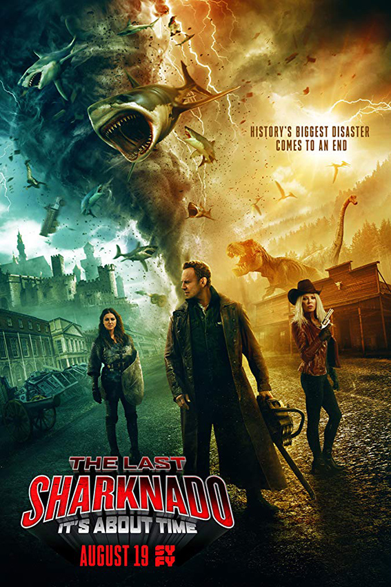 The Last Sharknado: It's About Time [2018 USA Movie] Thriller