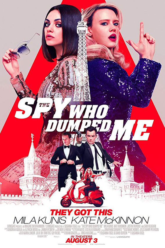 The Spy Who Dumped Me [2018 USA & Canada Movie] Action, Comedy