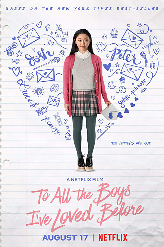 To All The Boys I've Loved Before [2018 USA Movie]  Drama, Romance