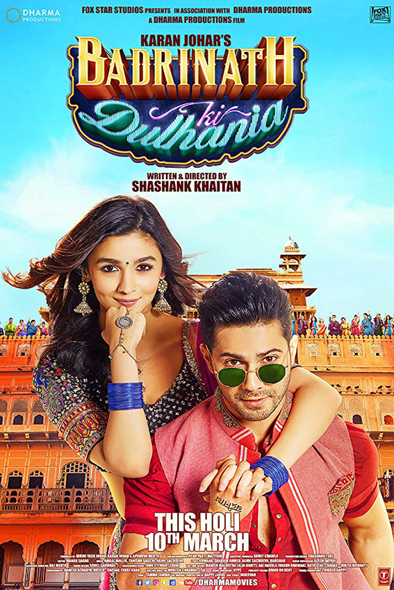 Badrinath Ki Dulhania [2017 India Movie] Hindi, Drama, Comedy, Romance
