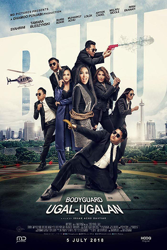 Bodyguard Ugal-Ugalan [2018 Indonesia Movie] Drama, Comedy