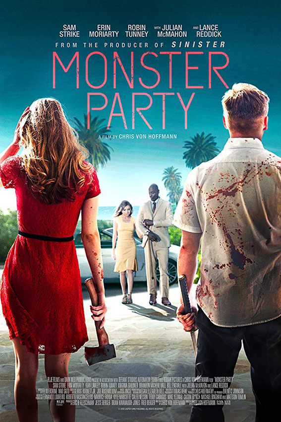 Monster Party [2018 USA Movie] Horror, Thriller