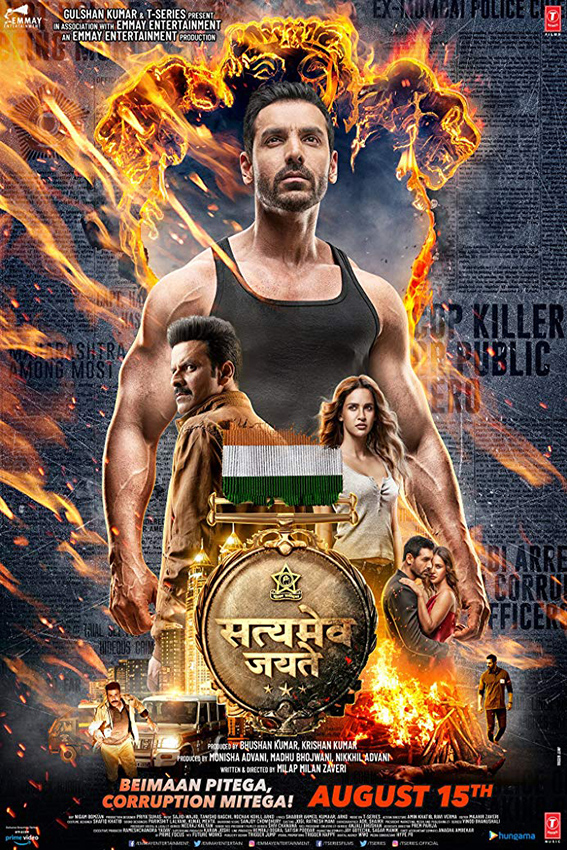 Satyameva Jayate [2018 India Movie] Hindi, Action, Drama, Thriller