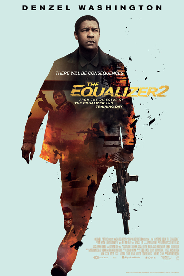 The Equalizer 2 [2018 USA Movie] Action, Crime, Thriller