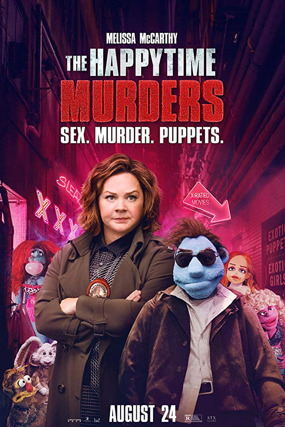 The Happytime Murders [2018 USA, China Movie] Action, Comedy