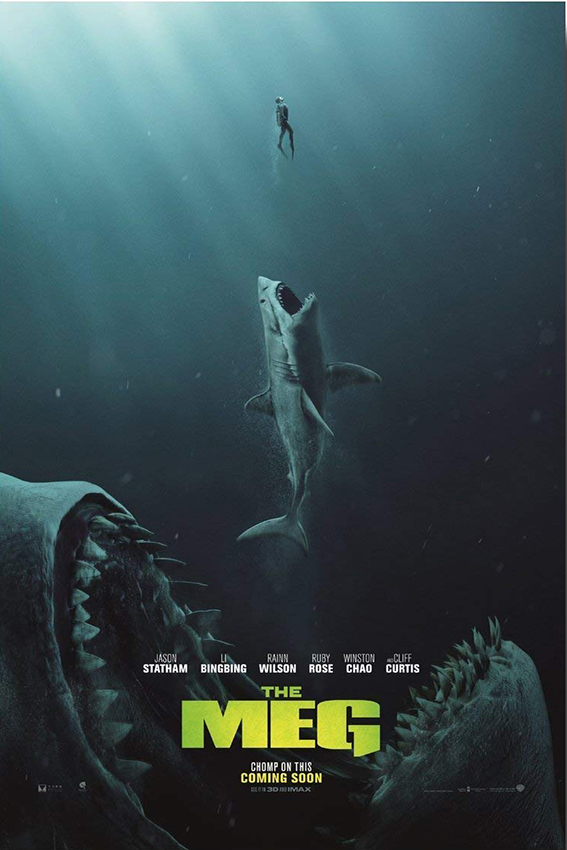 The Meg [2018 USA, China Movie] Action, Thriller