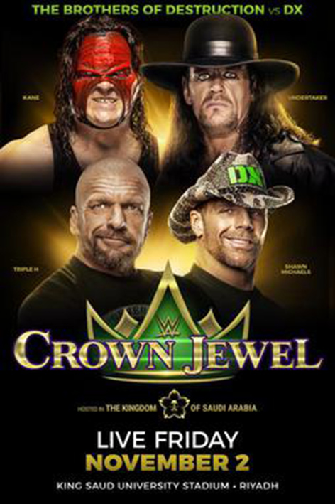 WWE Crown Jewel 2018 [2018 USA Show]