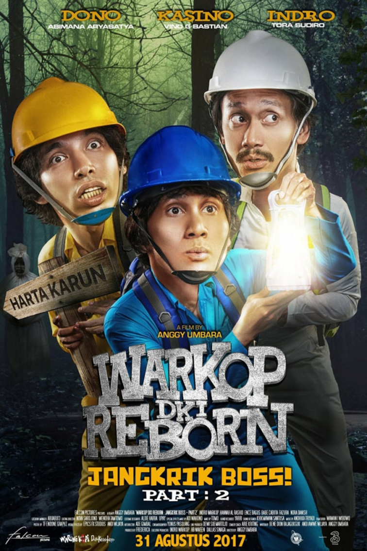 Warkop DKI Reborn: Jangkrik Boss! Part 2 [2017 Indonesia Movie] Comedy