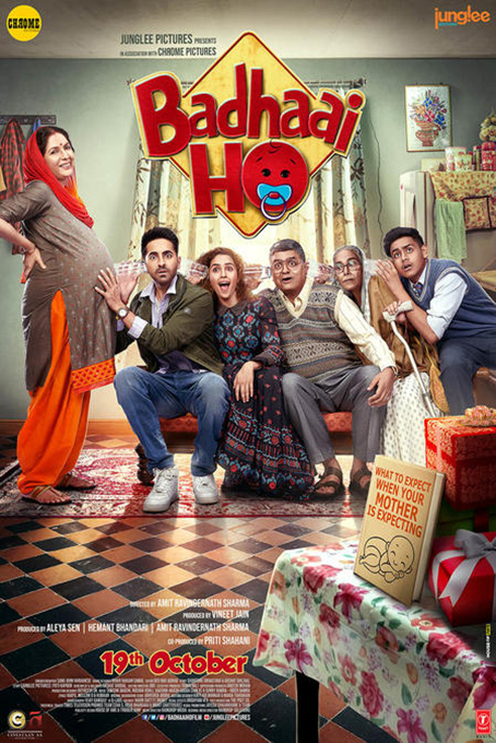 Badhaai Ho [2018 India Movie] Comedy, Drama, Hindi