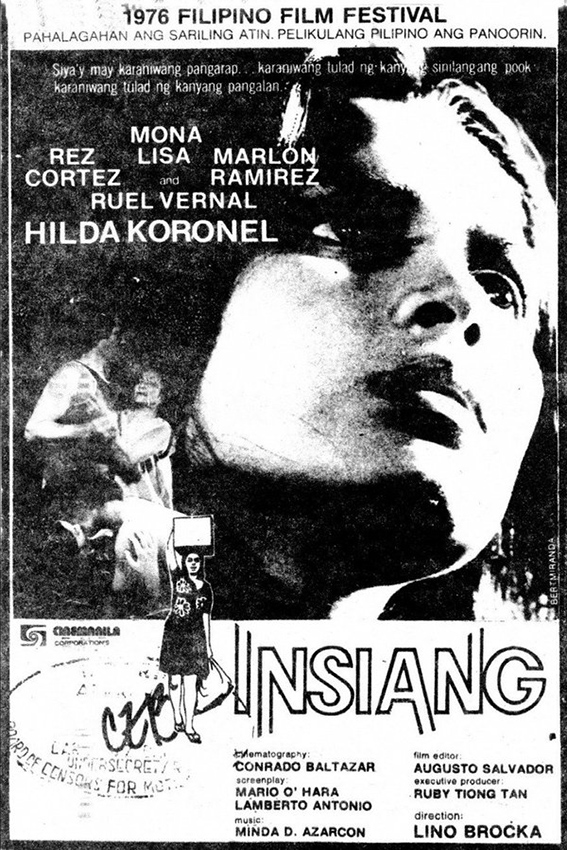Insiang [1976 Philippines Movie] Drama