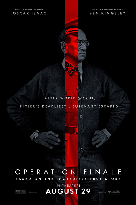 Operation Finale [2018 USA Movie] Drama, History, Thriller, True Story