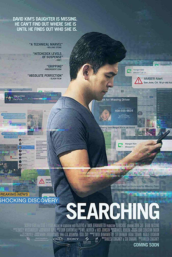 Searching [2018 USA Movie] Drama, Mystery, Thriller