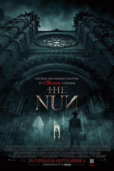 The Nun [2018 USA Movie] Horror, Mystery, Thriller