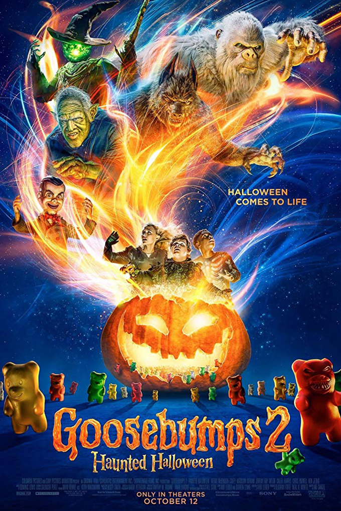 Goosebumps 2: Haunted Halloween [2018 USA Movie] Adventure, Comedy, Family