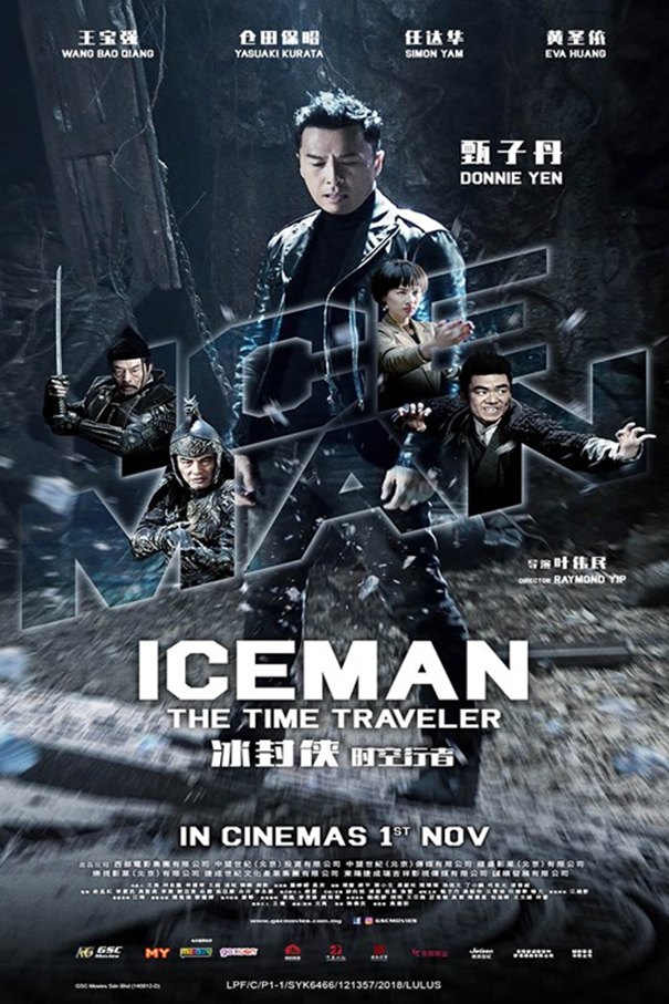 Iceman The Time Traveller [2018 China, Hong Kong Movie] Action, Comedy, Sci Fi