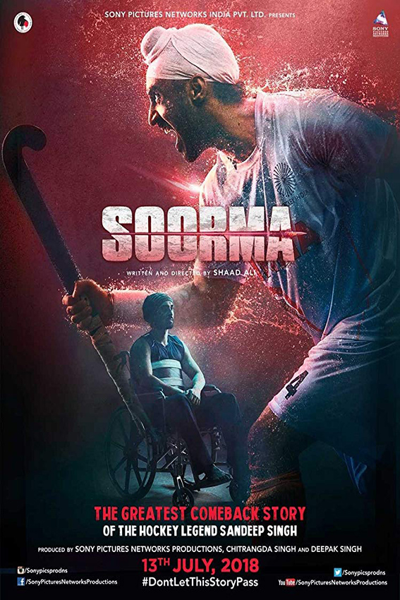 Soorma [2018 India Movie] Hindi, Biography, Sport