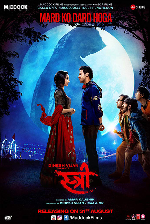 Stree [2018 India Movie] Hindi, Horror, Comedy