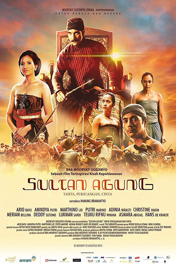 Sultan Agung [2018 Indonesia Movie] Action, History