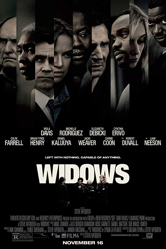 Widows [2018 USA Movie] Crime, Thriller