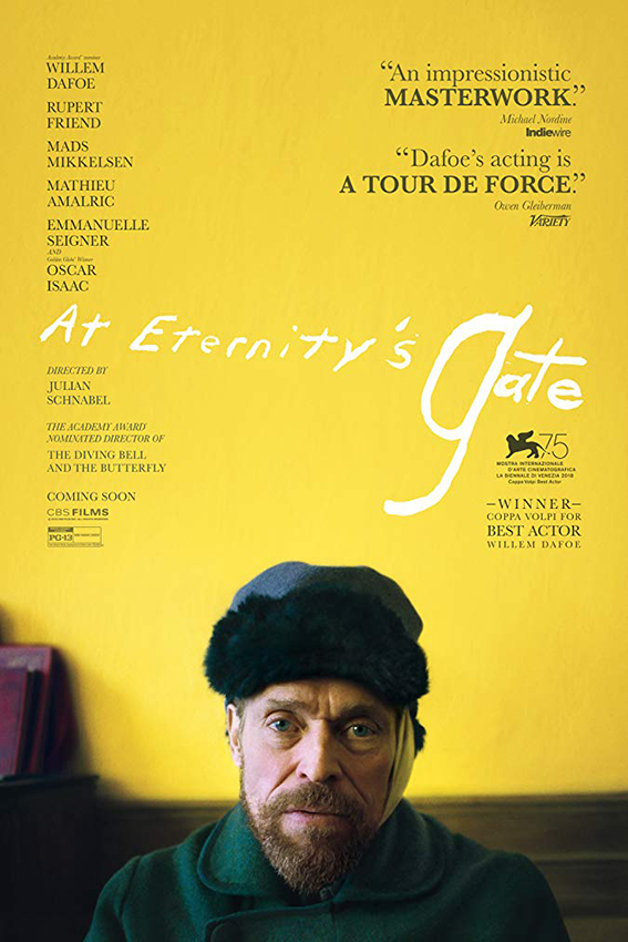 At Eternity's Gate [2018 USA Movie] Drama