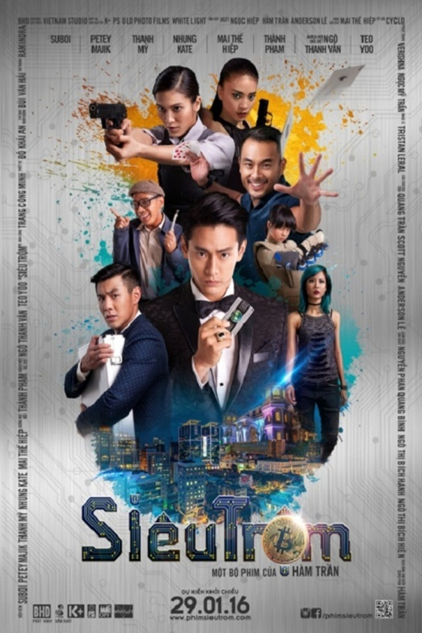 Bitcoin Heist [2016 Vietnam Movie] aka. Sleutron , Action