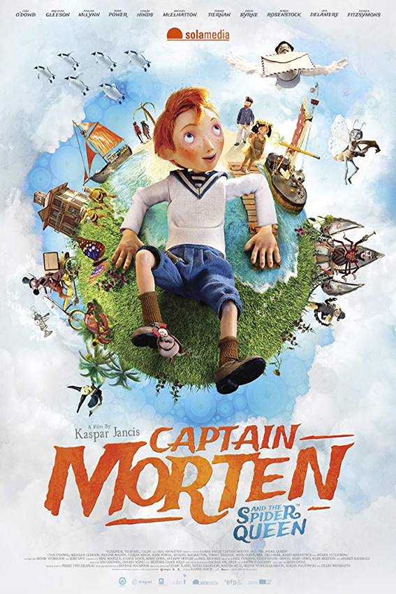 Captain Morten and the Spider Queen [2018 Estonia, Belgium, Ireland, UK Movie] English, Animation, Family