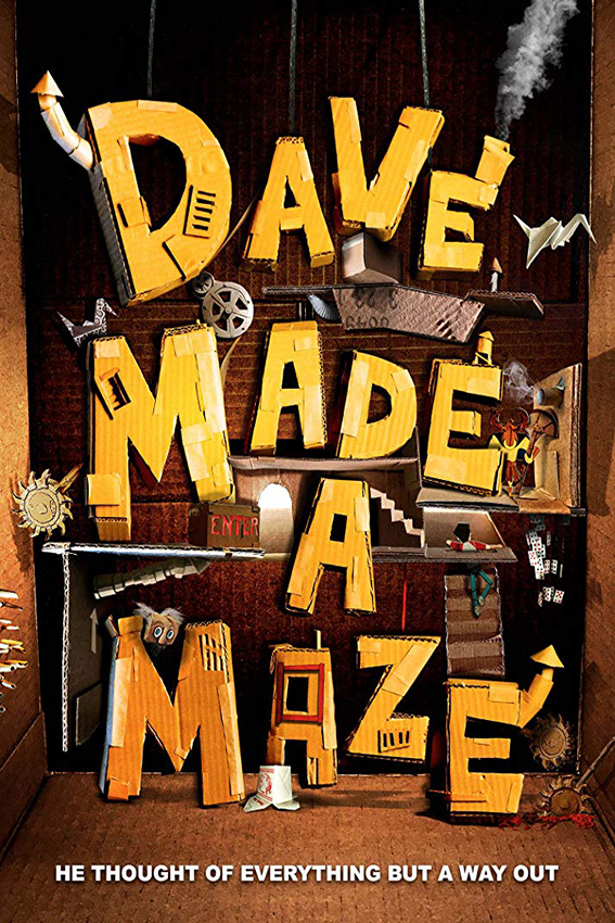 Dave Made a Maze [2018 USA Movie] Adventure, Horror, Comedy