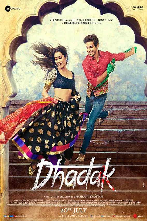Dhadak [2018 India Movie] Hindi, Comedy, Romance