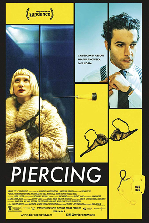 Piercing [2018 USA Movie] Horror, Thriller