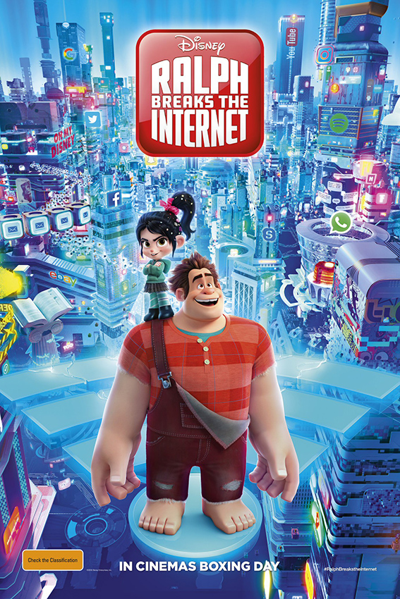 Ralph Breaks the Internet [2018 USA Movie] Animation, Family