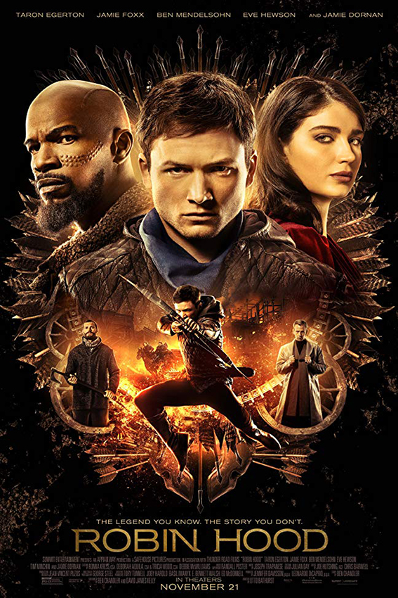 Robin Hood [2018 USA Movie] Adventure, Action, Thriller