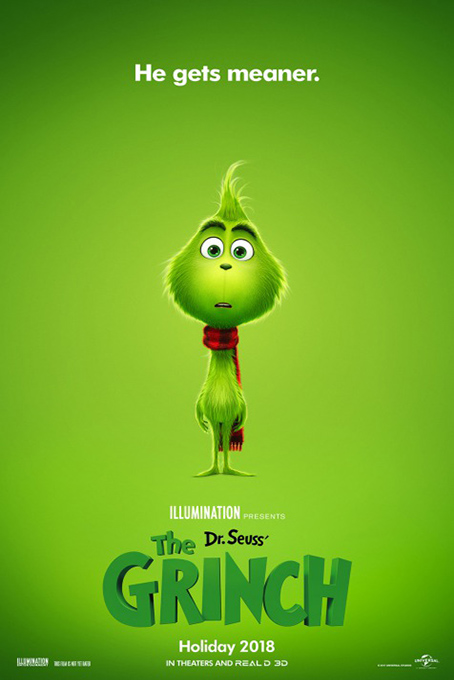 The Grinch [2018 USA Movie] Animation, Family