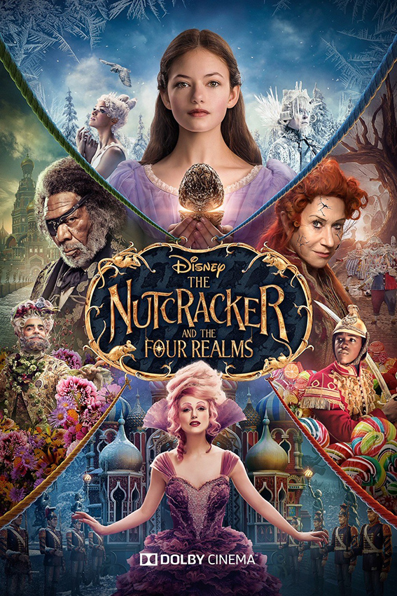 The Nutcracker and the Four Realms [2018 USA Movie] Family, Fantasy