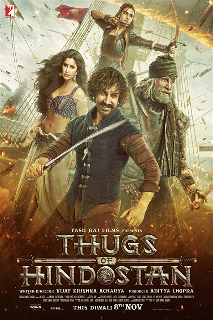 Thugs of Hindostan [2018 India Movie] Hindi, Action, Adventure