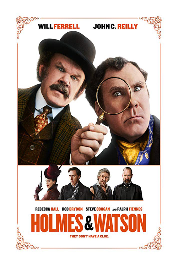 Holmes and Watson [2018 USA Movie] Comedy