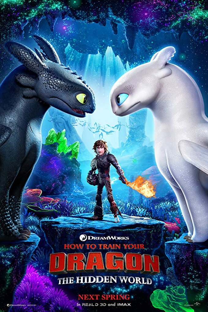 How to Train Your Dragon 3: The Hidden World [2019 USA Movie] Animation, Family
